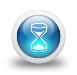 glossy-3d-blue-hourglass-icon